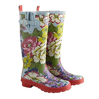 Joules, Womens Wellies in a Floral Print