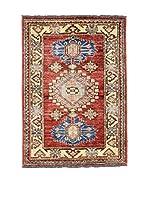 Eden Carpets Alfombra Ghazni Rojo/Beige/Azul 93 x 65 cm