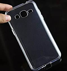 SDO Dotted Finish Ultra Thin Silicone Soft Jelly Case Back Cover for Samsung Galaxy J2 - Transparent