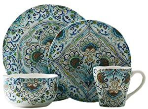 222 Fifth Aisha 16-Piece Dinnerware Set by 222 Fifth
