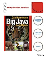 Big Java, Binder Ready Version: Early Objects, 6th Edition Front Cover