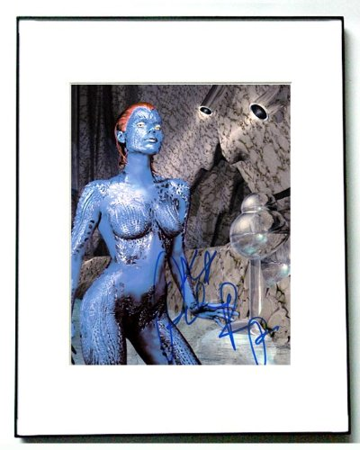 Rebecca Romijn Autographed Signed X-Men Nude Mystique Photo