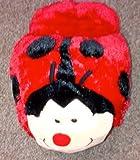 Animal Ladybird Foot Feet Warmer Snug Snuggle Slipper Super