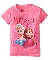 Disney Frozen Little Girls' Forever Sisters Tee Shirt