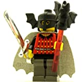 LEGO Castle Minifig Fright Knights Bat Lord With Cape