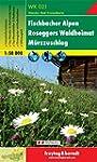 Carte de randonn�e : Fischbacher Alpe...
