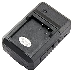 STK's Sony NP-BD1 NP-FD1 Battery Charger - for Sony CyberShot DSC-T70, DSC-T90, DSC-T200, DSC-T300, DSC-TX1, DSC-T700, DSC-T77, DSC-T900, DSC-T500, DSC-T2, DSC-G3, BC-CS3, BC-CSD, + more in product description by STK/SterlingTek