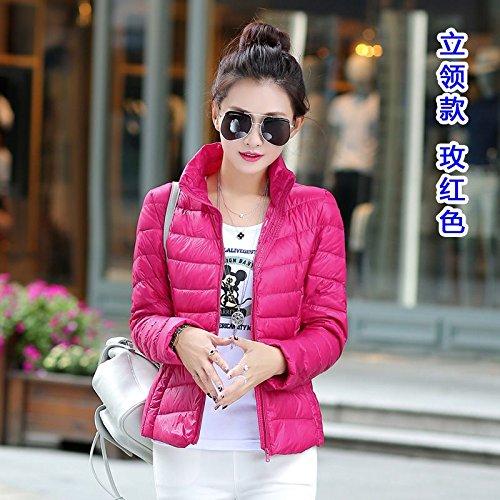 WJP donne ultra leggero rivestimento Packable gi? Outwear tampone piumino W-2142
