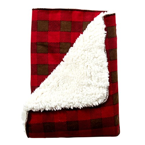 Trend Lab Northwoods Plush Receiving Blanket