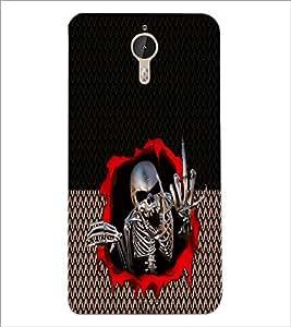 PrintDhaba Skeleton D-5014 Back Case Cover for LETV (LE ECO) LE 1 PRO (Multi-Coloured)