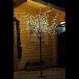 LED-Kirschblütenbaum 250 cm hoch mit 600 LED warm weiß...