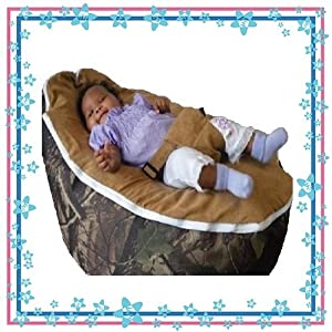 "Baby Beanbags By Babybooper Extra Soft Suede Top Toddler Kids Portable Bean Bag Seat ""Seasons Outdoor"""