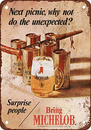 1970-michelob-beer-pic-nic-e-look-vintage-riproduzione-in-metallo-tin-sign-203-x-305-cm