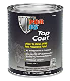 POR-15 (45904) Top Coat Chassis Black - 1 Quart