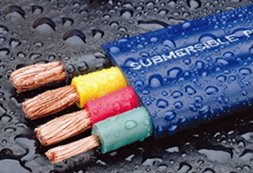 250Ft Submersible Pump Cable for Water Wells, 12-Gauge 3-Wire + Ground (Submersible Wire compare prices)