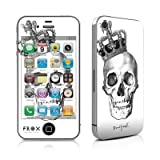 Apple iPhone 4用スキンシール【Skull King】