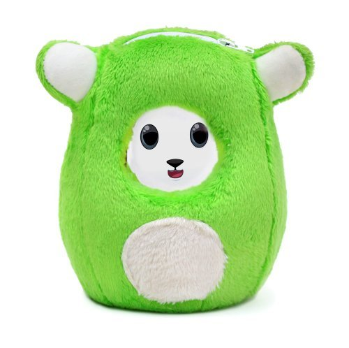 Ubooly-Interactive-Learning-Plush-Toy-for-iPhone-iPod-Touch-or-Android-Smart-Phones-Green-by-Ubooly