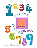 Children's Book: FUN WITH COUNTING SQUARES WORKBOOK: Beginner readers-kids book collection(Kids Book Values Book)Education-Early reader Picture Learning ... TEN (Fun With Counting Shapes: WORKBOOKS 1)