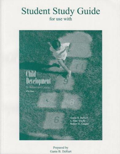 Child Development: Study Guide (Dehart Child Development compare prices)