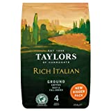 Taylors of Harrogate Rich Italian Ground Coffee - 454g