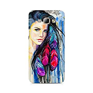 Mobicture Girl Abstract Premium Designer Mobile Back Case Cover For Samsung A3