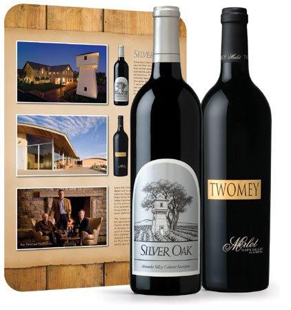 Silver Oak Trophy Reds Wine Gift Set