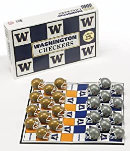 Buy NCAA Washington Huskies Checkers by Rico