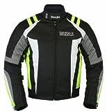 B-30 Bangla Sportive Motorbike Jacket Textile CORDURA600 Neon Green Size M