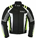B-30 Bangla Sportive Motorbike Jacket Textile CORDURA600 Neon Green Size XXL