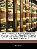 echange, troc Eugne Clavel - Droit Musulman: Du Statut Personnel Et Des Successions D'Aprs Les Diffrents Rites Et Plus Particul¬erement D'Aprs Le Rite Hana