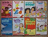 img - for Set of 8 Hello Readers: Math and Science Levels 1-3 (More or Less a Mess ~ Not Enough Room ~ Tic-Tac-Toe Three in a Row ~ Monster Math ~ Brrr! A Book About Polar Animals ~ Germs! Germs! Germs! ~ The Playground Bully ~ The Stubborn Pumpkin) book / textbook / text book