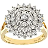 Ariel 18ct Yellow Gold Ladies Diamond Ring