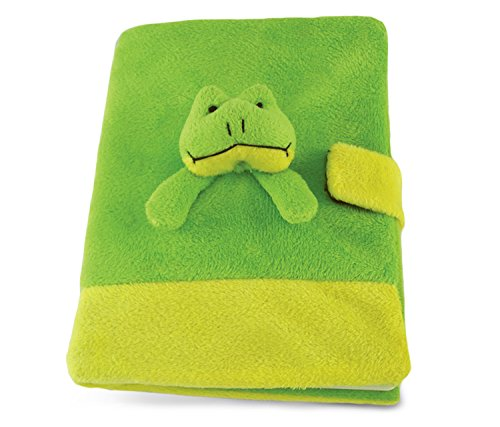 Puzzled Frog Plush Notebook