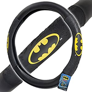BDK Universal Fit Warner Brothers Batman Steering Wheel Cover at Gotham City Store