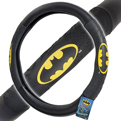 BDK Universal Fit Warner Brothers Batman Steering Wheel Cover at Gotham City Store