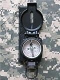 Cammenga S.W.A.T.Black Tritium Lensatic Compass, Vertical B3H