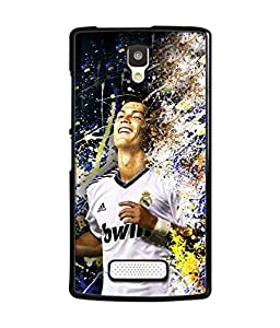 djipex DIGITAL PRINTED BACK COVER FOR LENOVO A2010