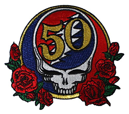 """GDP Inc.,"" 50th Anniversary PATCH toppa - Officially Licensed Original Artwork, 2.9"" x 3"", Iron-On / Sew-On Embroidered Patch"