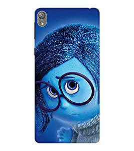 EPICCASE dorky dude Mobile Back Case Cover For Sony E5 (Designer Case)