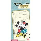Mickey Mouse & Minnie Planer für zwei 2016