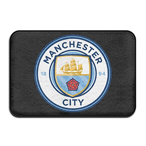 MSKOOK Manchester City Football Club Doormats / Entrance Rug Floor Mats Doormats (Welcome To The City Of Champions compare prices)
