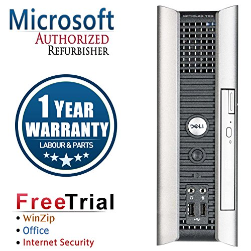 Click to buy Refurbished- Dell 760 Ultra-small Form Factor Intel Core 2 Duo E6550 2.33G , 4G DDR2 Memory, 160G Hard Drive , DVD , Windows 7 Premium 64 Bit,1 Year Warranty - From only $600