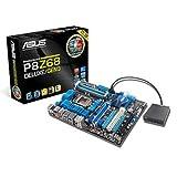 Asus P8Z68 DELUXE/GEN3 Motherboard (Socket 1155, Intel Z68 , DDR3, ATX, PCI Express 3.0, USB 3.0, Dual Intelligent Processors 2 with DIGI+ VRM Digital Power Design)