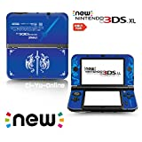 [new 3DS XL] Announce Fire Emblem Blue Limited Edition VINYL SKIN STICKER DECAL COVER for NEW Nintendo 3DS XL / LL Console System