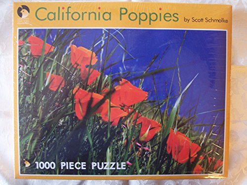 California Poppies 1000 Piece Jigsaw Puzzle