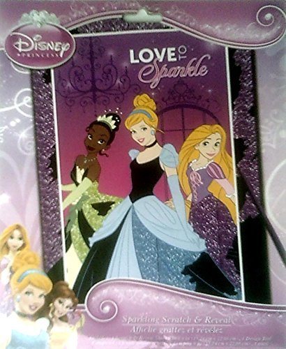 Disney Princess Scratch and Reveal Sparkling Gowns - 1