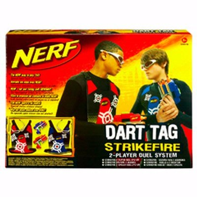 Nerf Dart Tag Strikefire Blasters 2 Player Set Review Nerf Dart Tag
