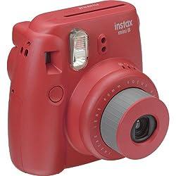 Fujifilm Instax Mini 8 Instant Film Camera Rasberry With 20 Sheets Instant Film