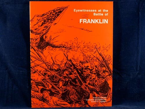 Title: Eyewitness at the Battle of Franklin
