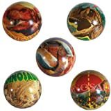 SOFT BOUNCING BALL DINOSAUR FUN KIDS INDOOR OUTDOOR BOUNCE TOY PLAY GAMES NEW